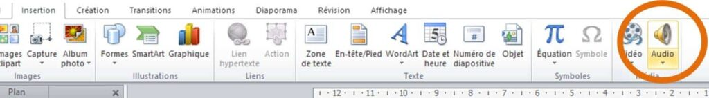 astuces powerpoint audio