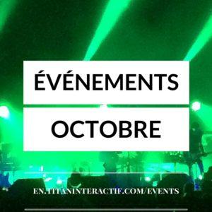 événements oct