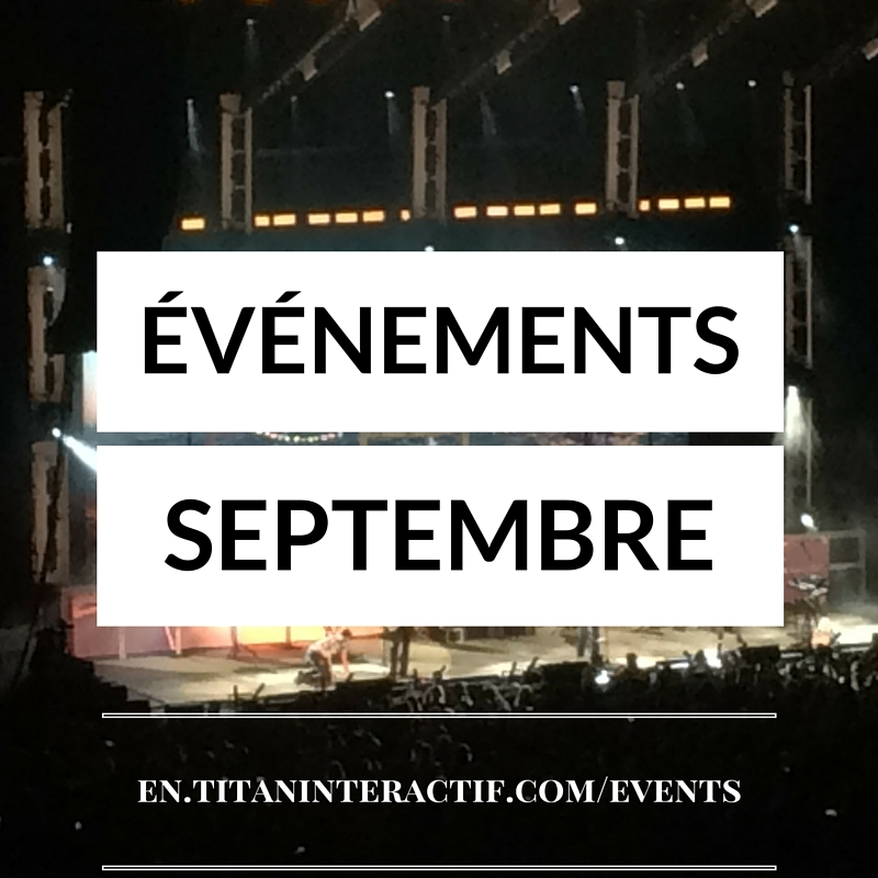 événements sept