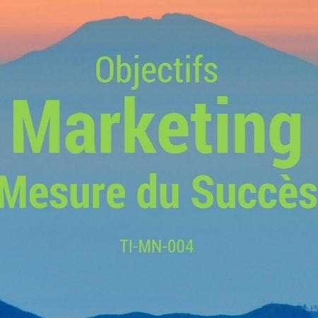 TI-MN-004 Objectifs Marketing et Mesures de Succès