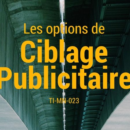 TI-MN-023 Le Ciblage Publicitaire