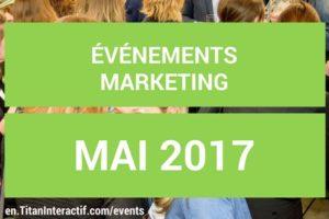 événements mai 2017