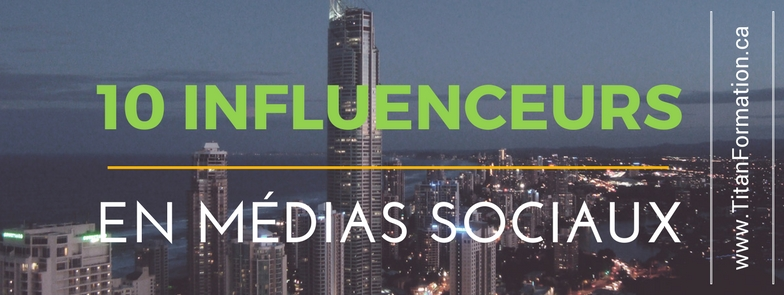 10 influenceurs médias sociaux