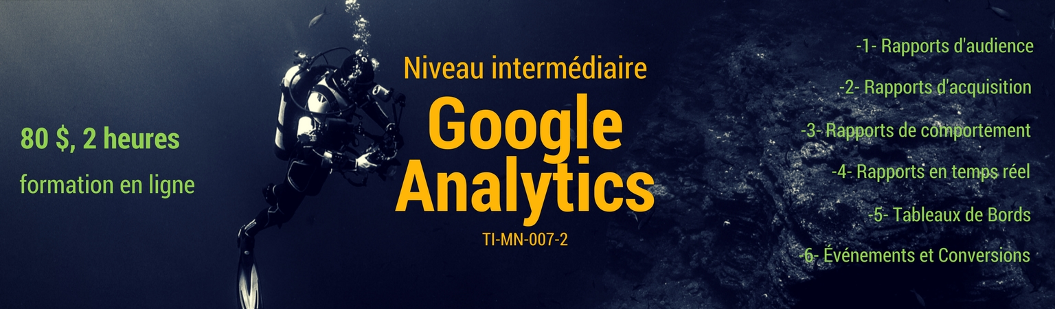 TI-MN-007-2 Google Analytics, niveau intermédiaire