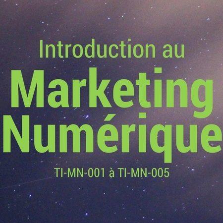 Introduction au Marketing Numérique – cours en ligne
