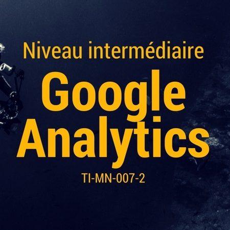 Google Analytics niveau intermédiaire