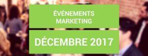 événements DÉCEMBRE 2017