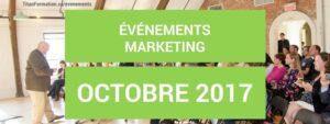 événements OCTOBRE 2017
