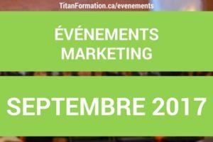 evenements septembre