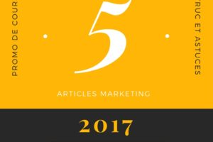 Top 5 meilleurs articles marketing